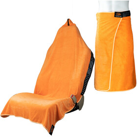 Orange Mud Transition Wrap 2.0 Multifunctional Towel, orange